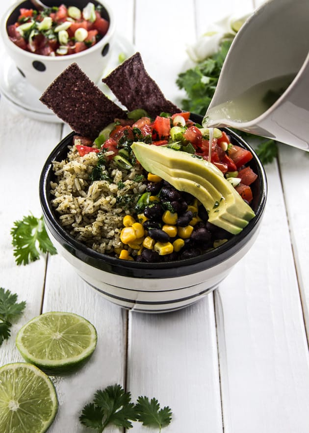Cilantro Lime Rice Bowl Picture