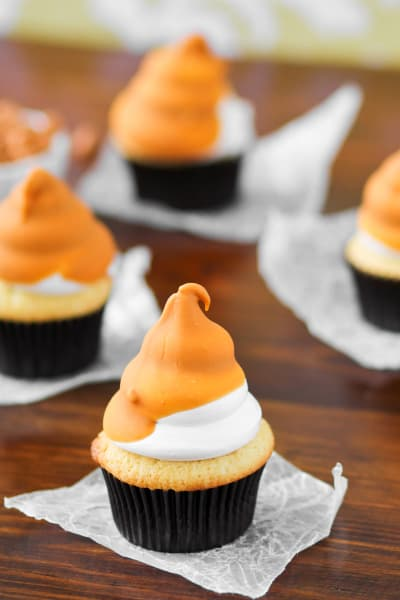 Butterscotch Dip Cupcakes Pic