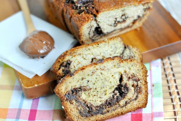 Nutella Banana Bread Photo