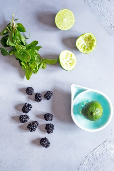 Blackberry Mojito Sangria Picture