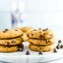 Gluten Free Peanut Butter Chocolate Chip Cookies Recipe