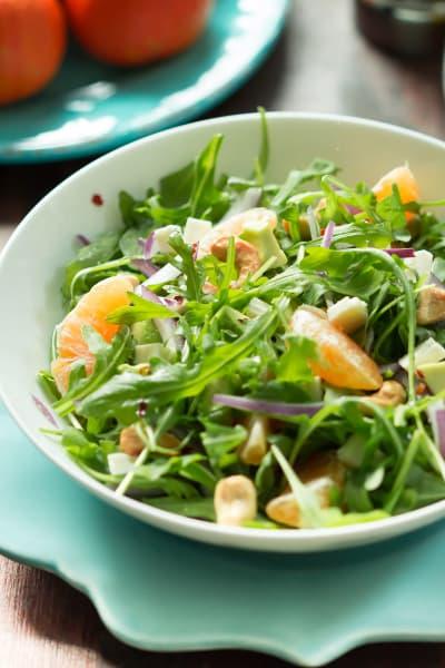 Clementine Arugula Salad Picture