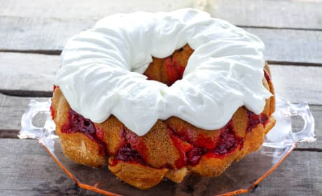 Cherry Cheesecake Monkey Bread Recipe