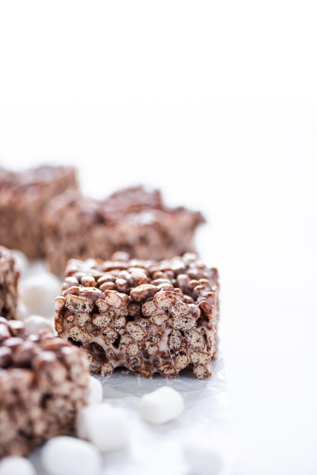 Gluten Free Chocolate Rice Krispie Treats Pic