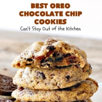 Best Oreo Chocolate Chip Cookies