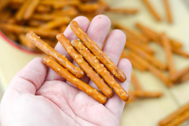 Gluten Free Seasoned Pretzels Image