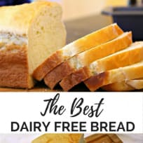The Best Dairy Free Bread