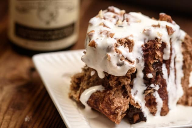 Chocolate Pecan Cinnamon Rolls Photo