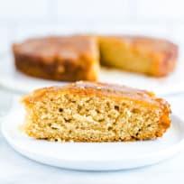 Gluten Free Apple Upside-Down Cake Recipe