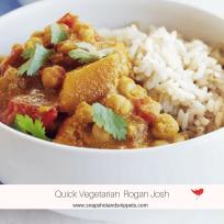 Quick Vegetarian Rogan Josh