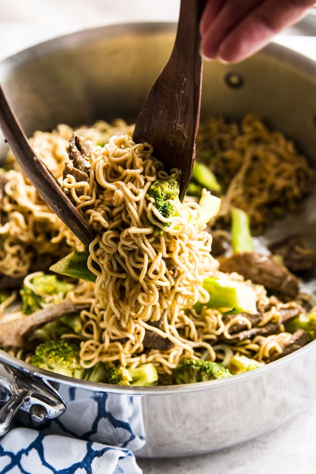30 Minute Beef and Broccoli Ramen Image