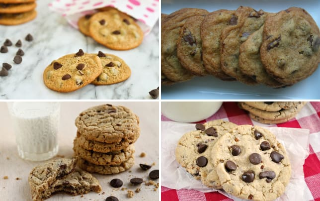 Malted chocolate chip cookies photo