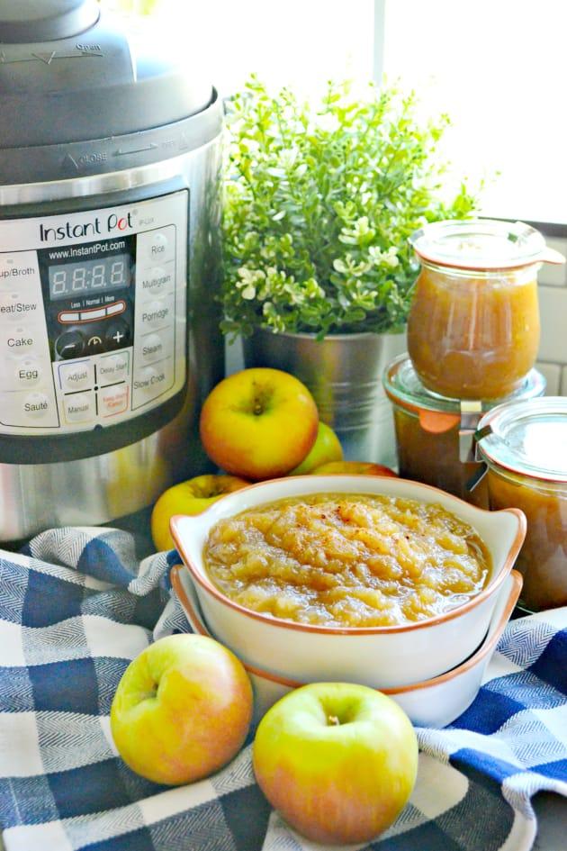 Instant Pot Applesauce Pic