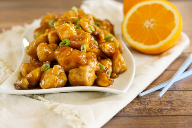 Gluten Free Orange Chicken Photo