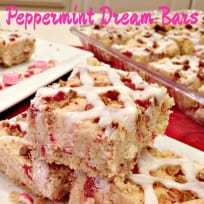 Peppermint Dream Bars