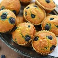 Grain Free Blueberry Muffins Recipe