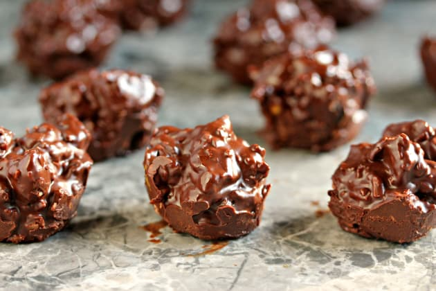 Chocolate Fruit & Nut Clusters Photo