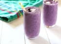 Blueberry Cottage Cheese Smoothie