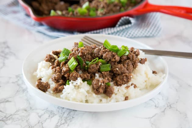 Ground Mongolian Beef Photo