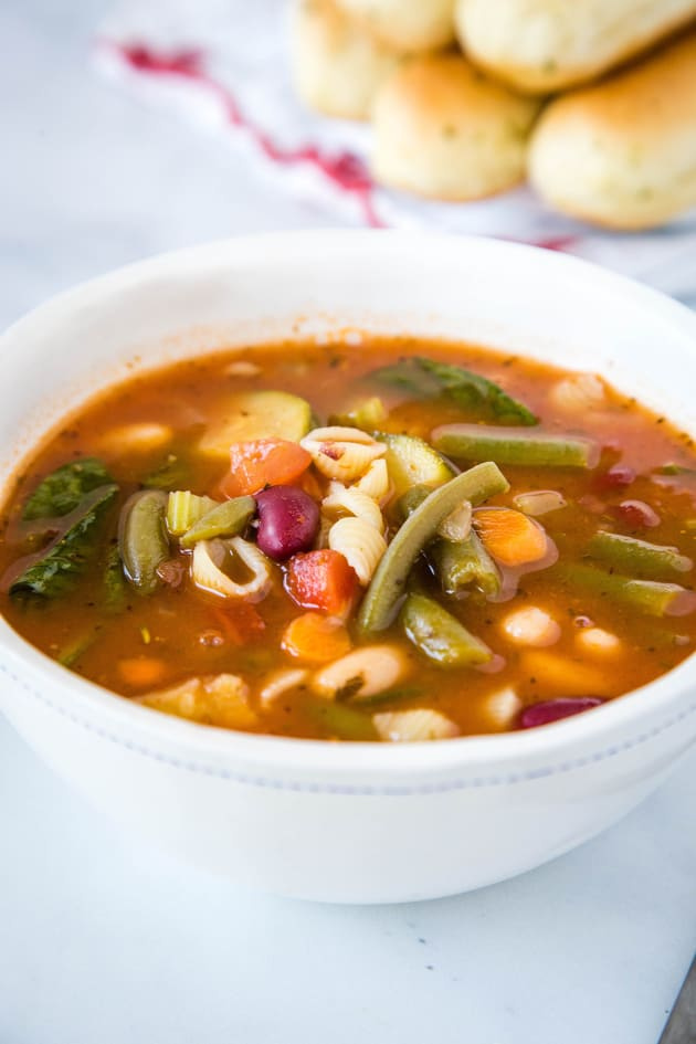 Olive Garden Minestrone Soup Picture