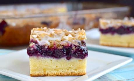 Blueberry Cream Coffee Cake Recipe