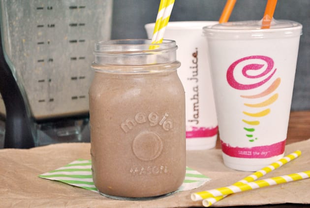 Peanut Butter Smoothie Photo