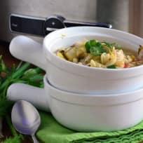 Lemon Chicken Orzo Soup Recipe