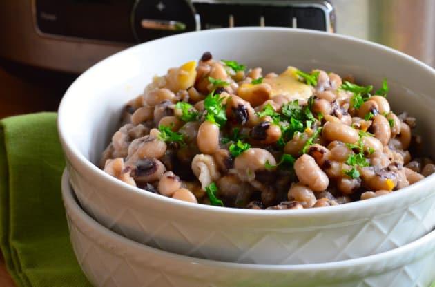 Slow Cooker Black Eyed Peas Image