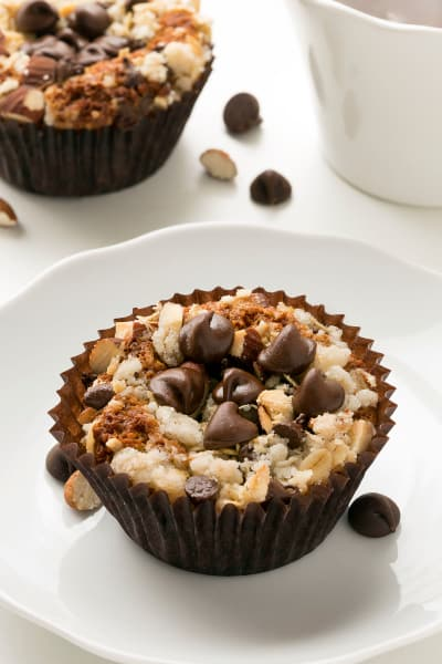 Gluten Free Chocolate Almond Muffins Picture