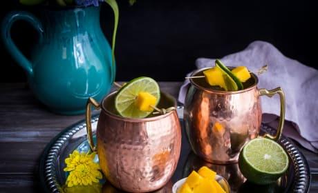 Mango Moscow Mule Recipe