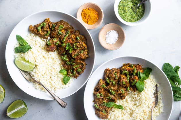 Indian Spiced Chicken Photo