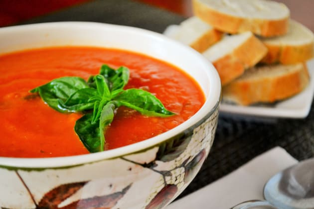 Vegan Tomato Soup Photo - Food Fanatic