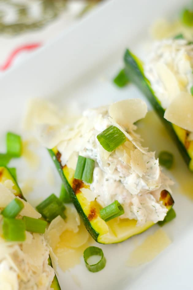 Gluten Free Chicken Salad Zucchini Boats Picture