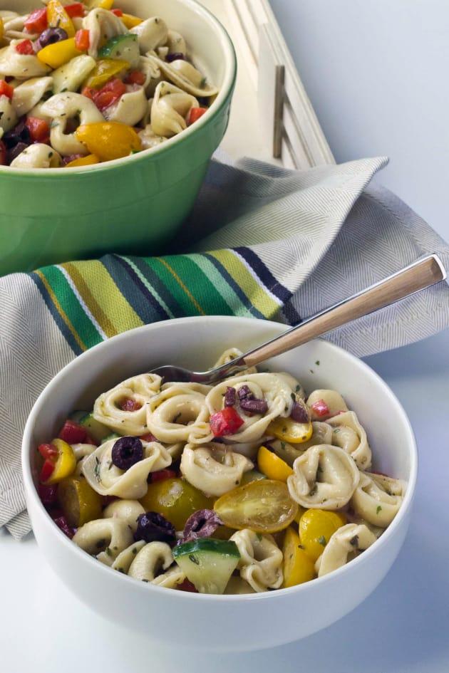 Tortellini Pasta Salad Picture