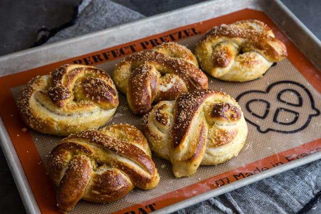 Garlic Herb Baked Pretzels Pic