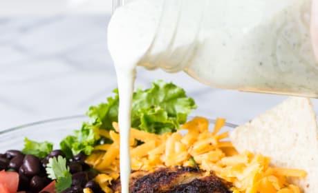 Chicken Taco Salad with Cilantro Ranch Pic