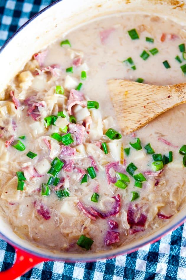 Reuben Soup Picture