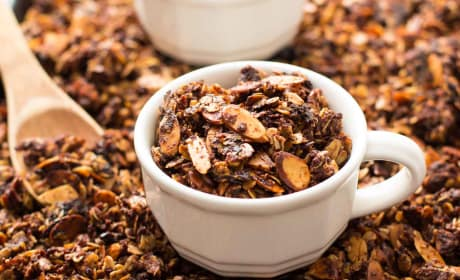 Nutella Almond Granola Photo