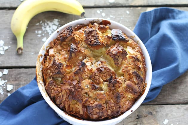 Coconut Banana Bread Pudding Photo