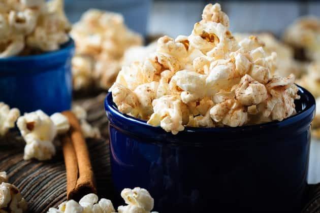 Cinnamon Roll Popcorn Image