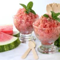 Watermelon Vodka Granita Recipe