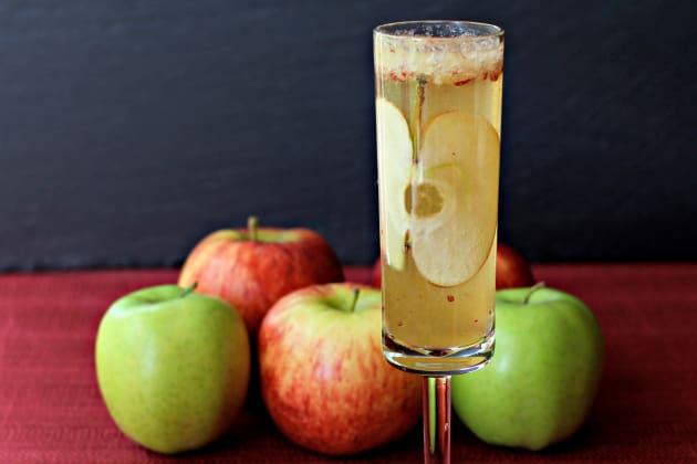 Apple Bourbon Bellini Photo