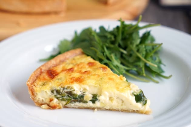 Spring Vegetable Quiche Photo