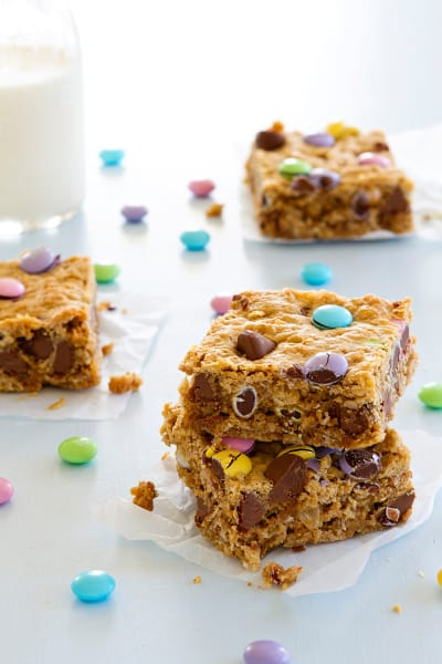 Monster Cookie Bars Picture