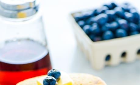 Gluten Free Blueberry Pancakes Image