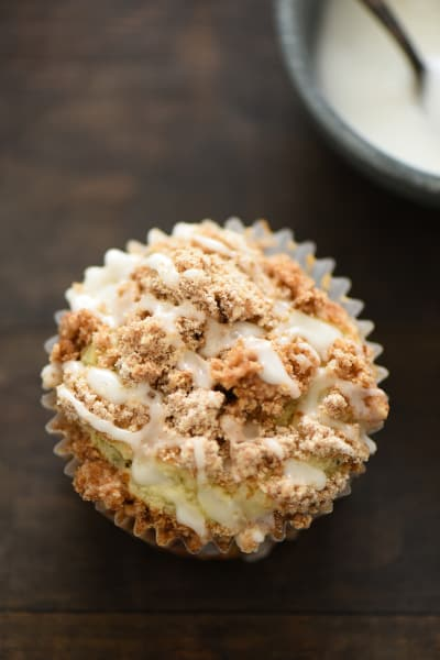 Lemon Earl Grey Streusel Muffins Picture