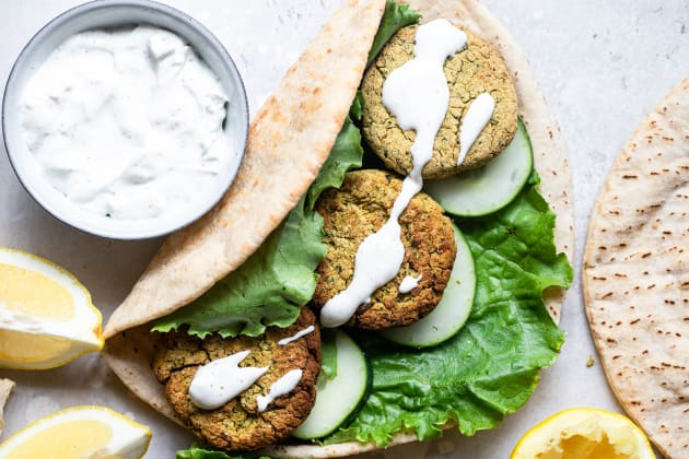 Air Fryer Falafel Photo