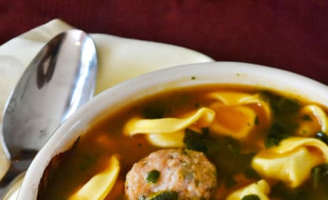 Meatball Tortellini Soup Picture