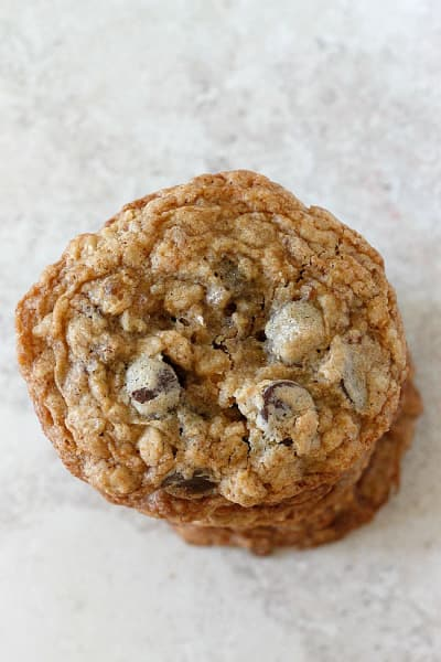 Oatmeal Coconut Chocolate Chip Cookies Image