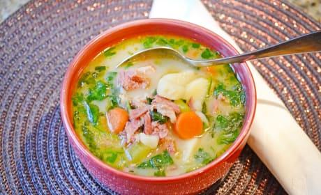 Ham Potato Soup Recipe